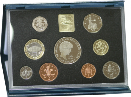 1999 Royal Mint Proof Set
